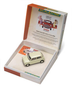 Scalextric 1959 Morris Mini Minor - C2980A