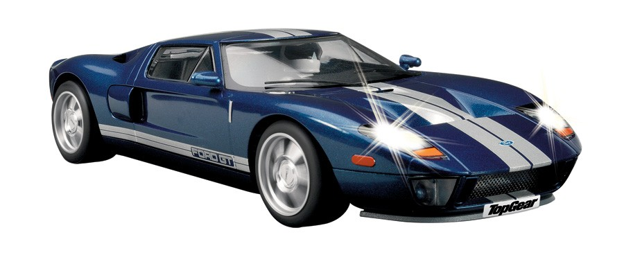 Scalextric Top Gear Ford Gt Special Edition C