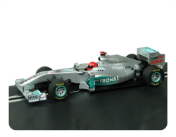 Scalextric Mercedes GP Petronas 2011 F1 Car - C3167 and C3168