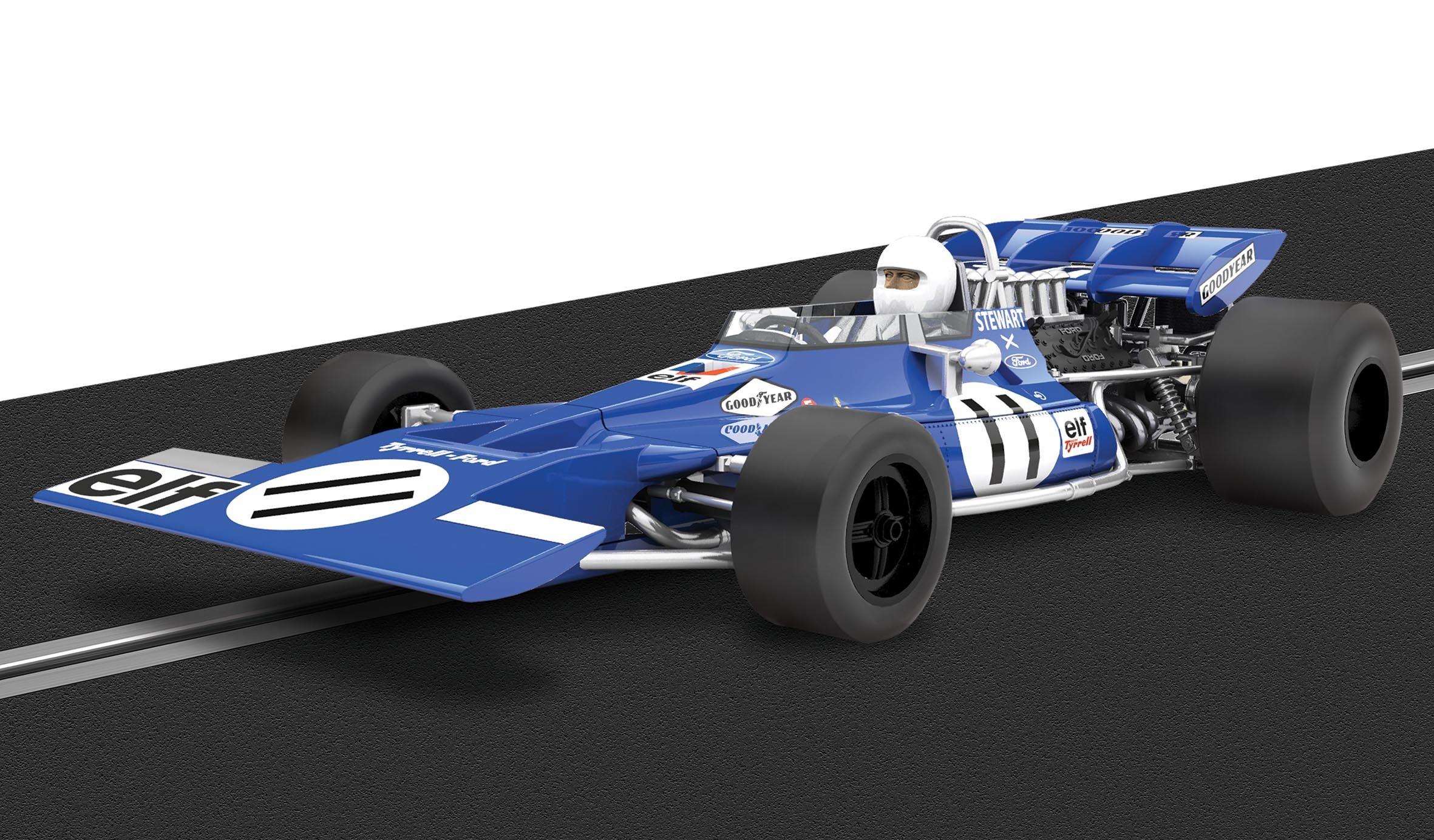 Scalextric Legends Tyrrell F1   C3655A