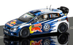 Scalextric Volkswagen Polo WRC - Rallye Monte Carlo 2015 - C3744