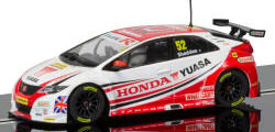 Scalextric BTCC Honda Civic No. 52 - Gordon Shedden - C3783