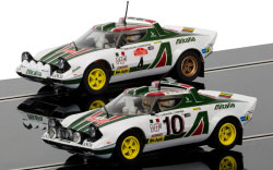 C3894A - Scalextric Legends Lancia Stratos 1976 Rally Champions Twinpack