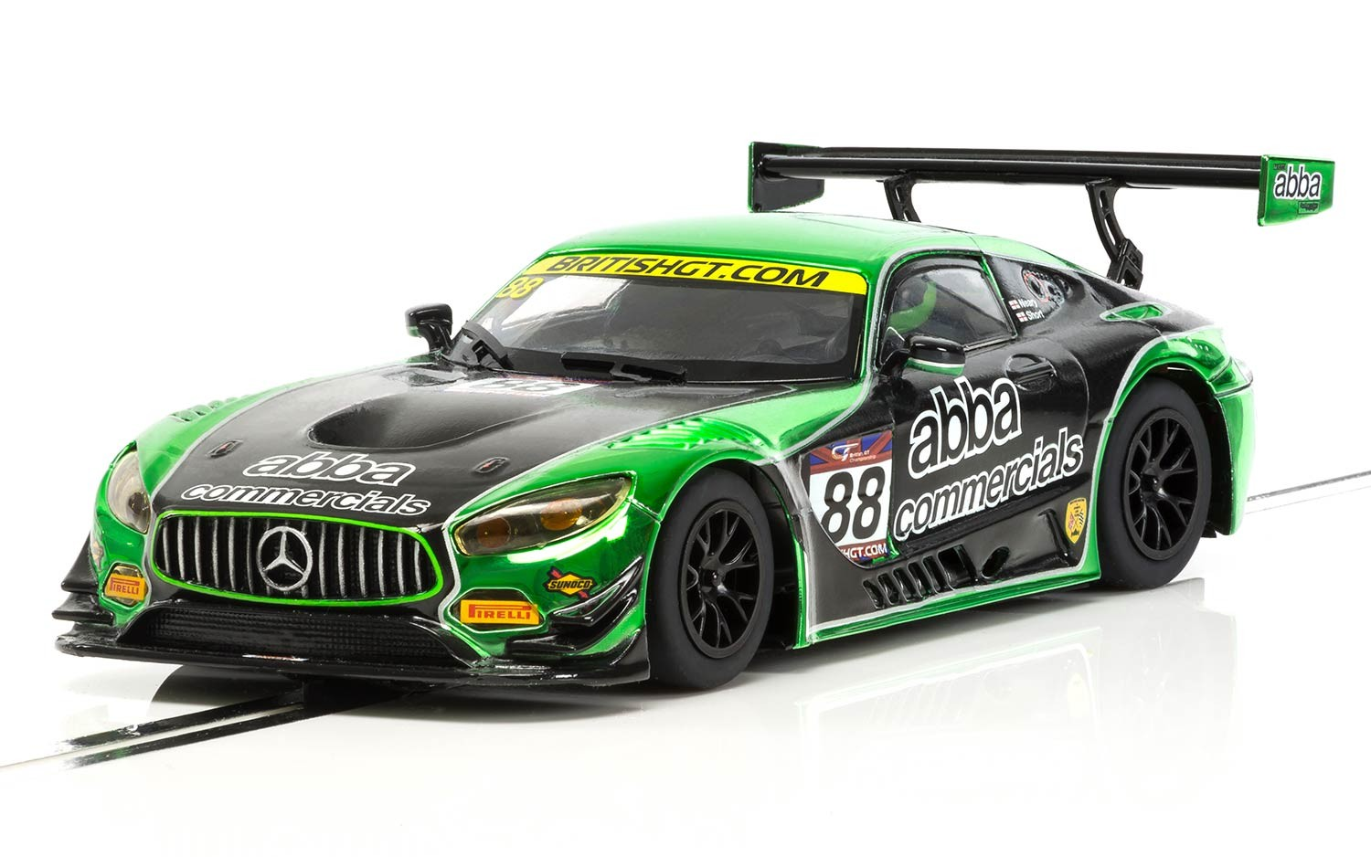 C3942 Scalextric Mercedes Amg Gt3 2017 Team Abba Racing