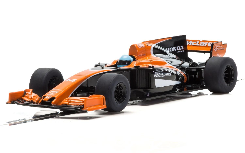 Scalextric 2017 McLaren Formula 1 Car Alonso   C3956