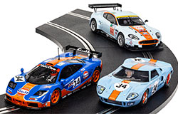 C4109A - Scalextric ROFGO Collection Gulf Triple Pack