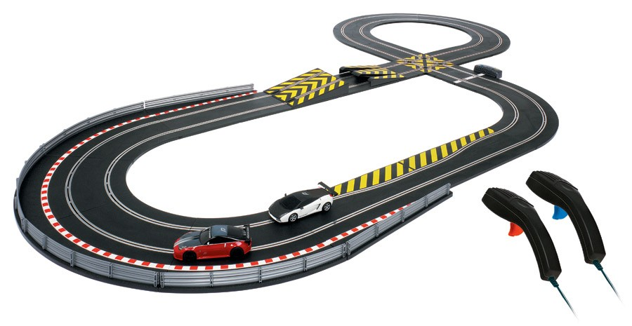 Discontinued C1239 Scalextric Need For Speed Race Set