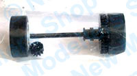 Scalextric Spares - Rear Wheel Assembly - Mini Italian Job - W8754