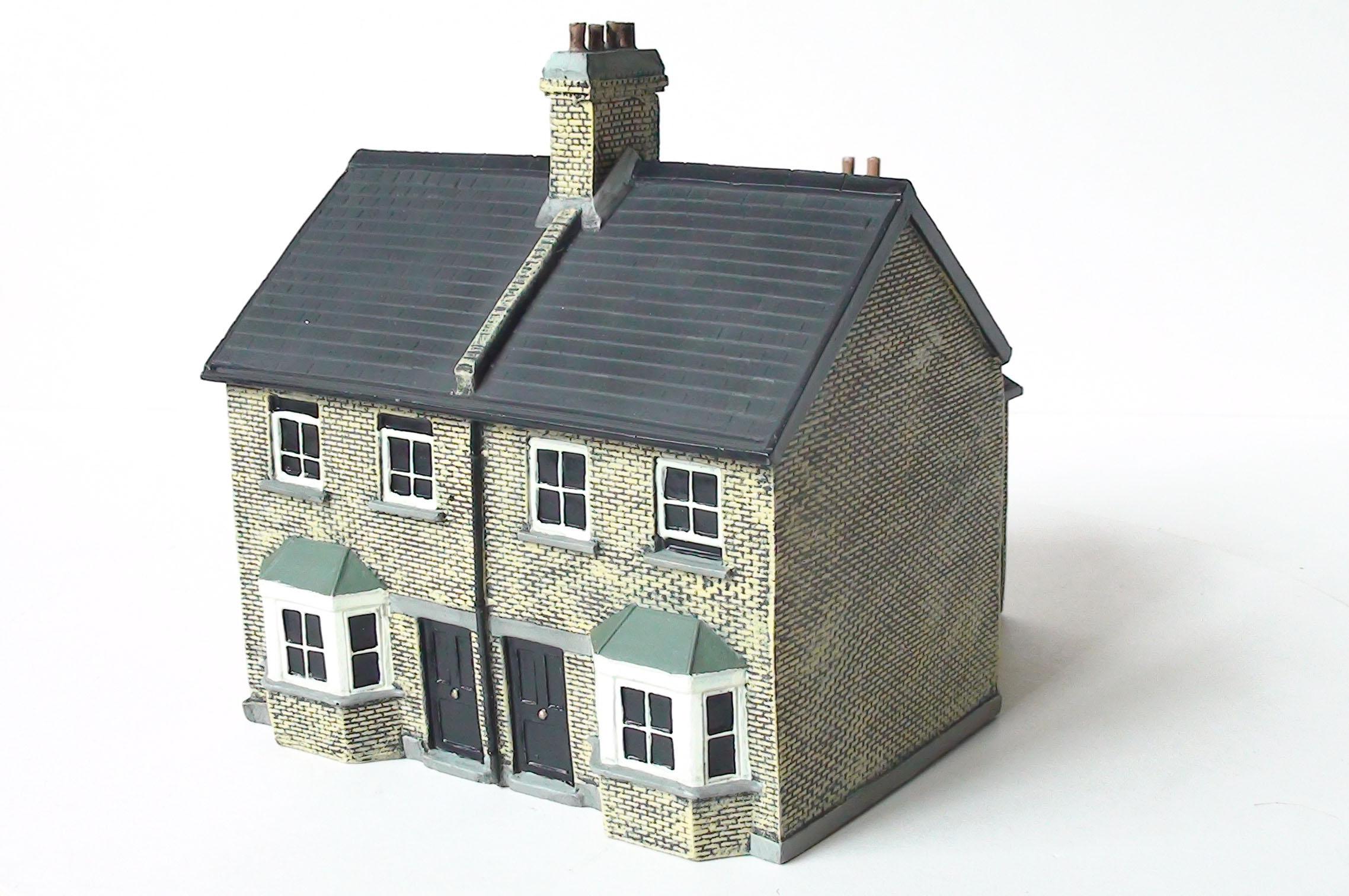 semi detached house clipart - photo #22