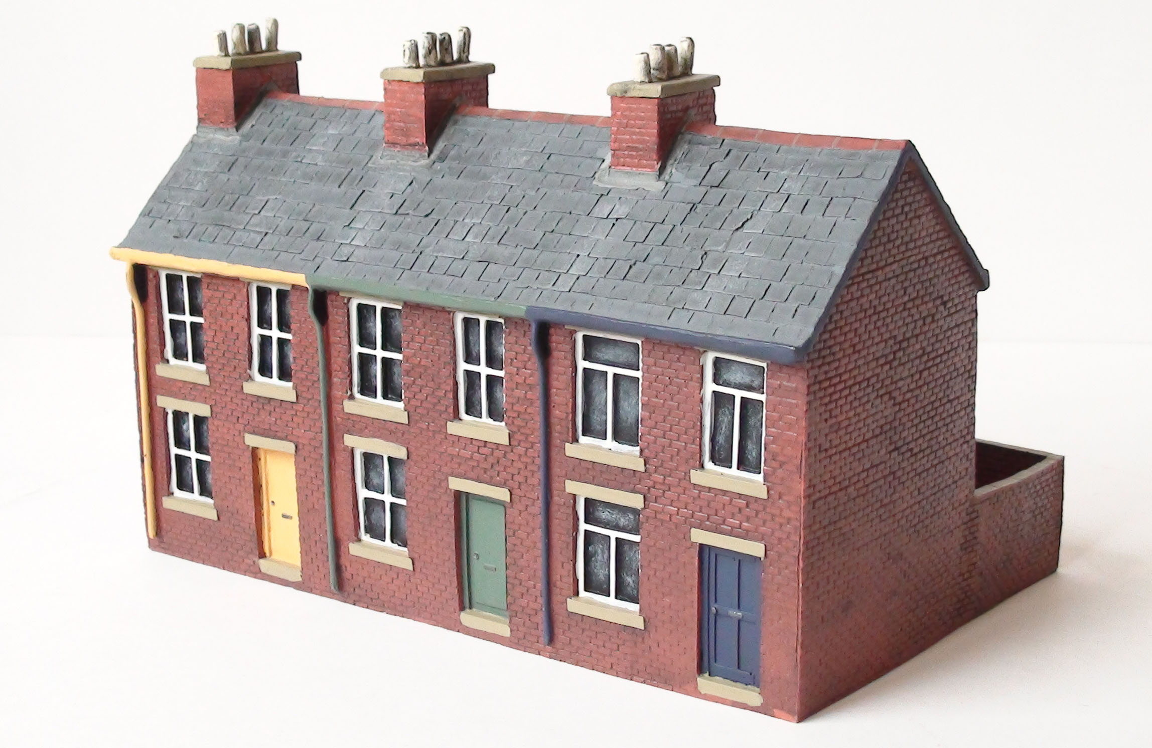 Em6008 scenix 3 house terrace new modellers shop for What is terrace house