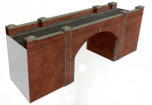 A14 Red Brick Bridge / Tunnel Entrance - Superquick Card Kits