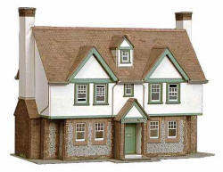 Superquick Model Card Kits - B24 Greystokes Farm House