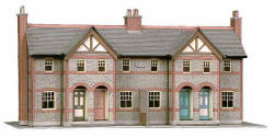 Superquick Model Card Kits - B30 Four Terraced Cottage