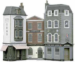 Superquick Model Card Kits - C1 Hotel, Offices and Restaurant