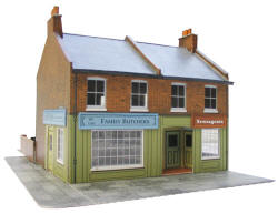 Superquick Model Card Kits - Model Railway Card Kit Buildings