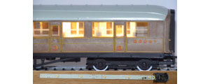 CL2 - Train-Tech - Automatic Coach Lighting - Warm White (Standard)