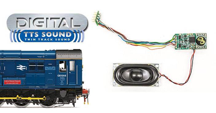 Hornby TTS Sound Decoder J36 Class hornby R7239